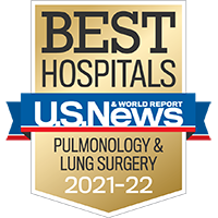 BEST HOSPITALS U.S.News & WORLD REPORT NATIONAL PULMONOLOGY